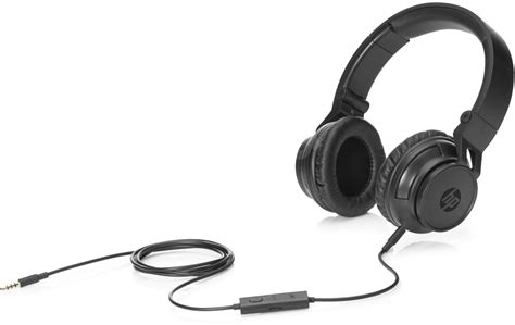 Headphone Hp Hp H3100 Black Headphones With Microphone Alzashop