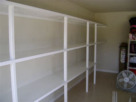 ted carpentry garage shelving