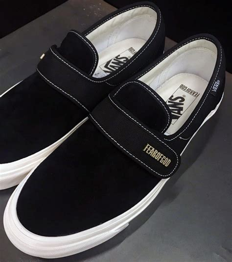 Slip On Dm 147 fear of god vans slip on style 147 black sneakerfiles