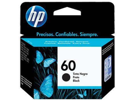 Tinta Printer Hp No 60 Cartucho Original De Tinta Negra Hp 60 Cc640wl Hp 174 M 233 Xico
