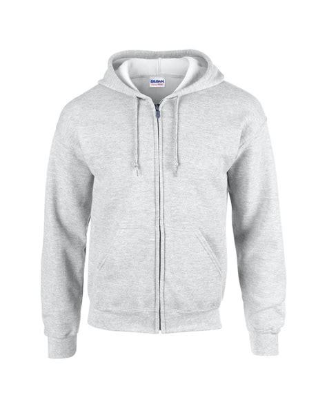 Jaket Zipper Hoodie Sweater Air Abu 7 gildan plain new mens zip up hoody fleece heavy blend zipper hooded jacket ebay