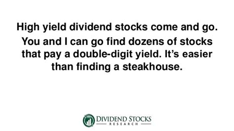 best high yield dividend stocks high yield dividend stocks for safety