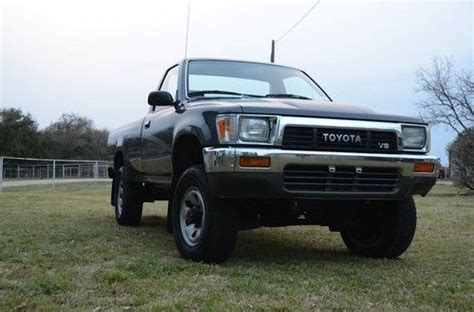 1990 Toyota Tacoma Sell Used Garage Kept 1990 Toyota 4x4 29