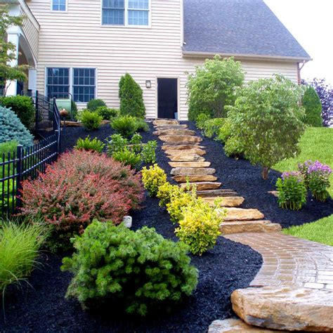 Black Mulch M L Hector Lawncare Black Landscaping