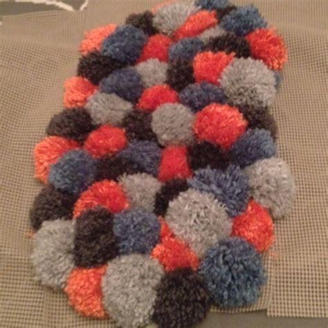 how to make pom pom rug pom pom rug in the rugs