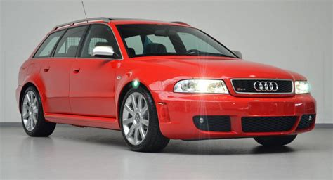 Audi Rs4 B5 For Sale by 2001 Audi Rs4 Avant With 188 Km On The Clock Selling For