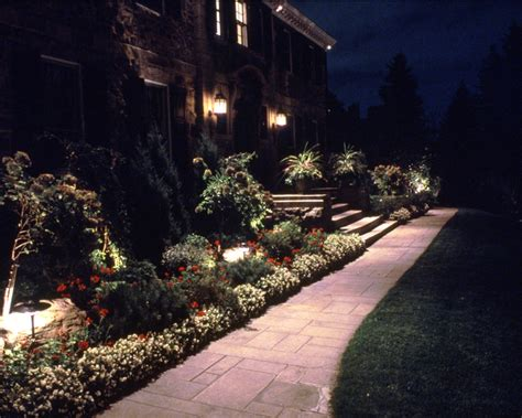 landscape lighting installation corliss landscaping
