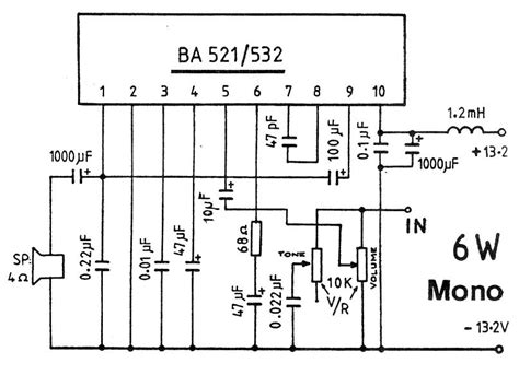 Ic Ba532 lifier circuits audio electronic schematics page 6 links