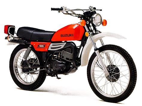 1975 Suzuki Ts185 Suzuki Ts185 Model History