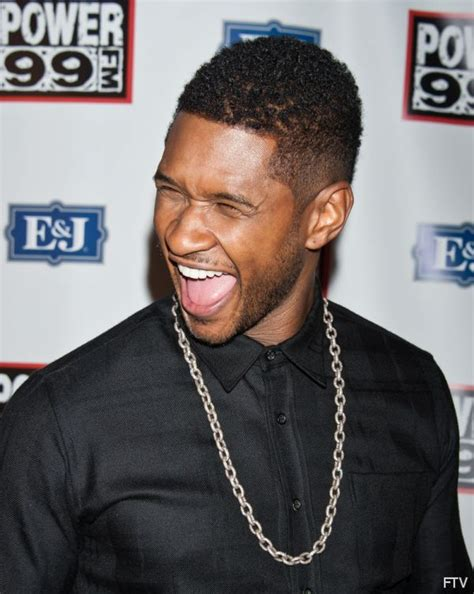 Usher Mohawk Hairstyle by Usher Mohawk Haircut For Black Usher Hairstyles