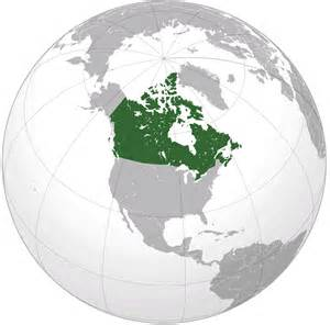 canada in the world map canada map and canada satellite images
