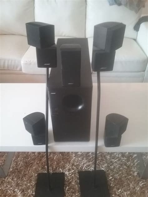 bose acoustimass  series ii home theater speaker system