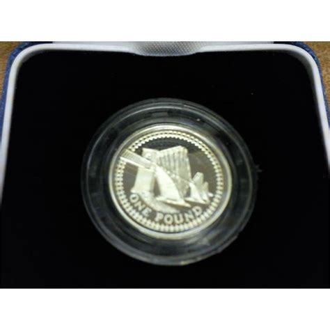 1 pound silver coin price 2004 united kingdom silver proof 1 pound coin