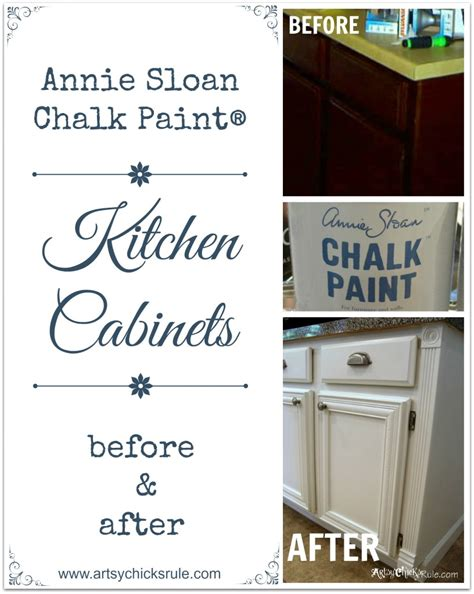 chalk paint kitchen cabinets before and after kitchen cabinet makeover annie sloan chalk paint artsy