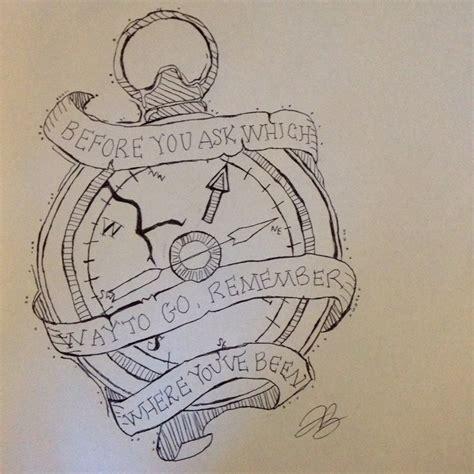 doodle friend compass doodle quote my doodles