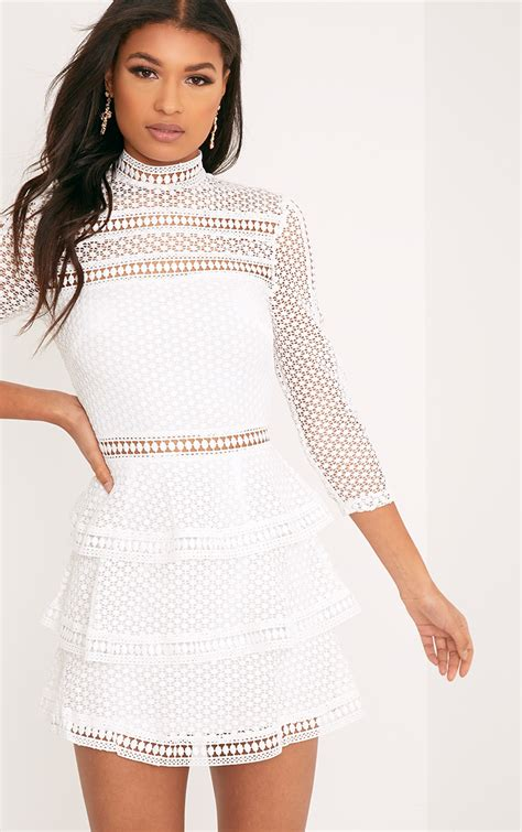 Wst 8969 Black Lace Cut Back Dress s clothing shop s fashion prettylittlething