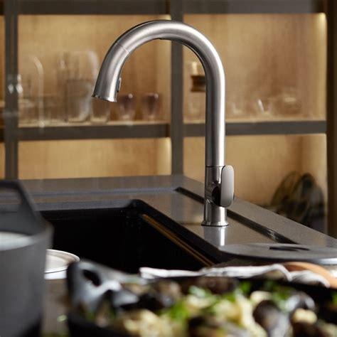 touchless kitchen sink faucet kohler k 72218 vs sensate touchless kitchen faucet