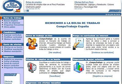 Modelo Curriculum Infojobs Top 4 De P 225 Ginas De B 250 Squeda De Empleo
