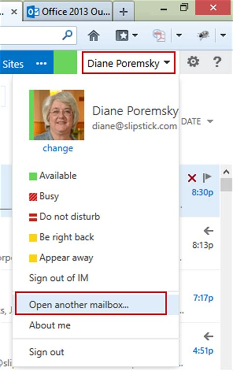 create rules and enable out of office for a shared mailbox