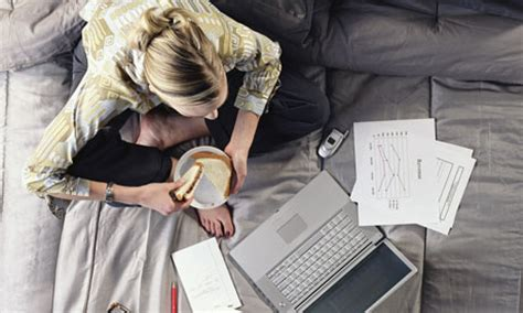 working from bed 7 things you should never do before going to sleep