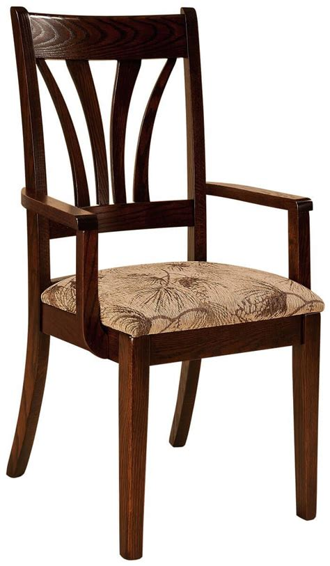 ocala modern amish dining chair countryside amish furniture