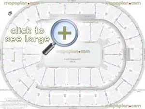 Bb T Center Floor Plan bok center seat amp row numbers detailed seating chart