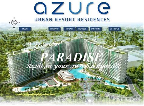 Towers On The Grove Floor Plan by 1 The Master Plan Azure Urban Resort Residences