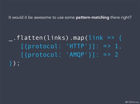 pattern matching failed ocaml implementing pattern matching in javascript full version