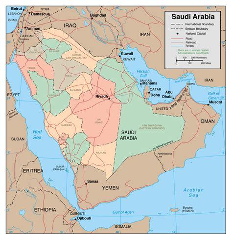 major map maps of saudi arabia detailed map of saudi arabia in