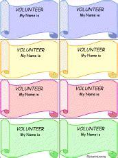 printable volunteer tags name tags to print enchantedlearning com