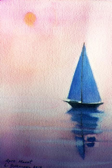 sailing boat watercolour watercolor sailboat google search sailboats