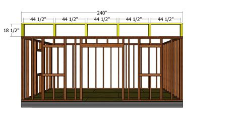 modern office shed plans