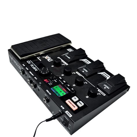 Effect Gitar Nux Modeling Prosessor Mfx 10 nux mfx 10 multi effects pedal guitar processor with lcd