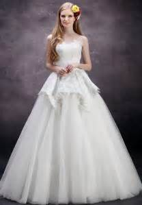 Wedding Ball Gowns Whiteazalea Ball Gowns Ball Gown Wedding Dresses With Delicate Peplums