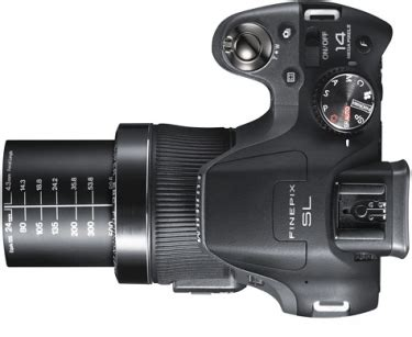 fujifilm finepix sl240 digital camera black | microglobe