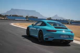 911 Gts Porsche 2017 Porsche 911 Gts Drive Motor Trend