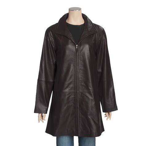 leather swing coat tibor leather full swing leather coat a line for plus