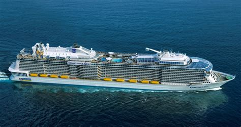 royal carribean royal caribbean launches revolutionary luxury cruiseship