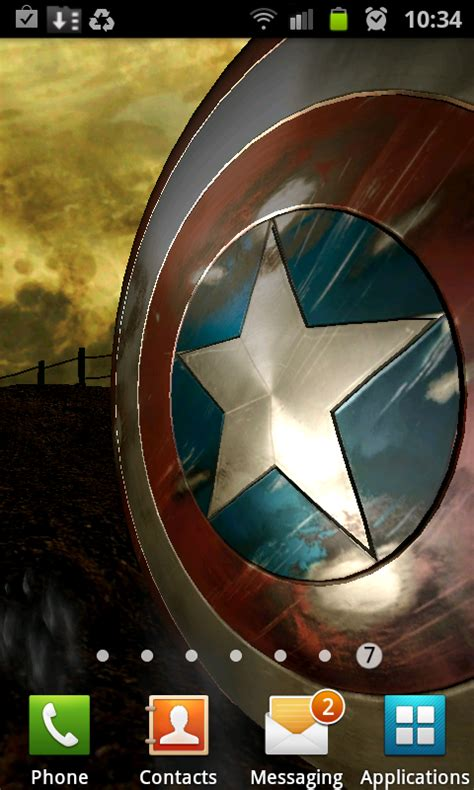 live wallpaper of captain america 3 more free live wallpapers drippler apps games news
