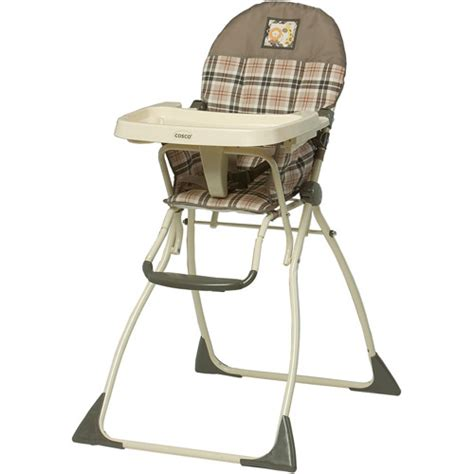 Cosco Folding High Chair by Cosco Flat Fold High Chair High Gate Walmart