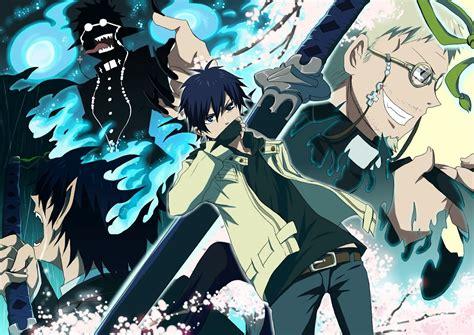 anime exorcist anime graveyard blue exorcist bunny1ov3r