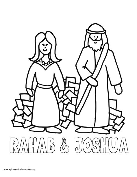 free coloring pages of rahab