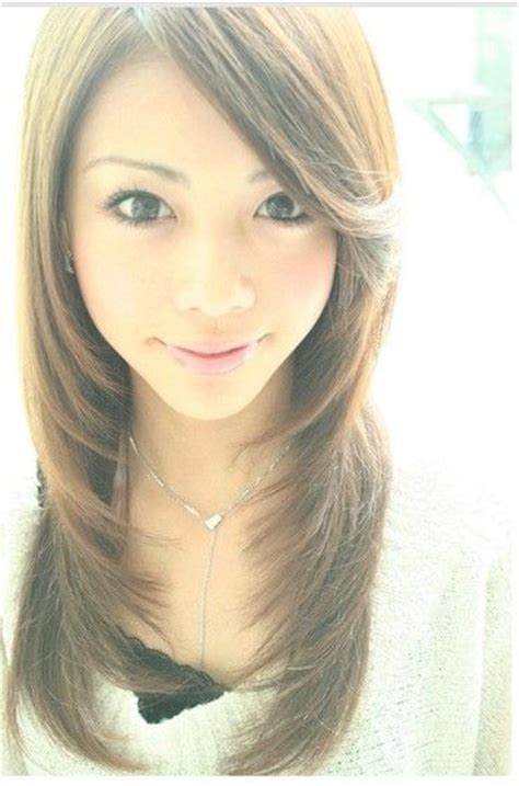 layered face frame hair dos beautiful asian hairstyle jpg for asian hair pinterest