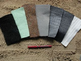 what is geotextile fabric? definition & types | study.com