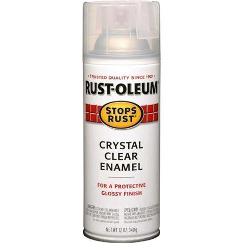 spray paint enamel shop rust oleum stops rust clear rust resistant