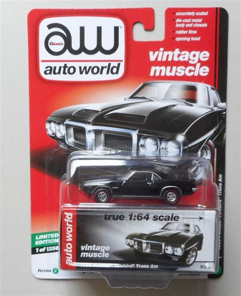 1969 Pontiac Firebird By Auto World 1 64 Scale 67 best die cast images on diecast 1 and