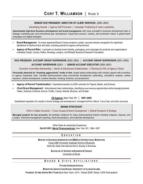 award winning resume sles best resume gallery