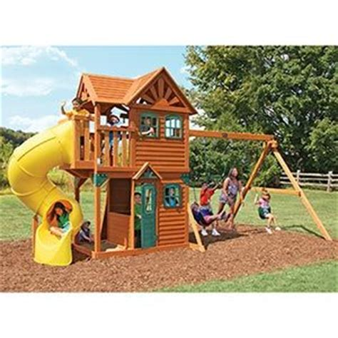 costco wooden swing sets costco cedar summit play set kids for xmas 1299