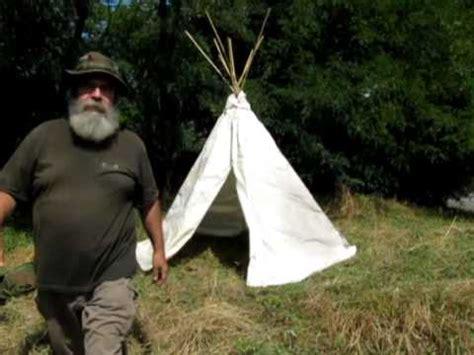 come costruire una tenda indiana teepee parte 3 3