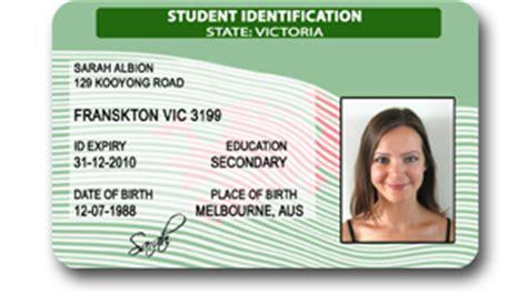 free fake id templates australia